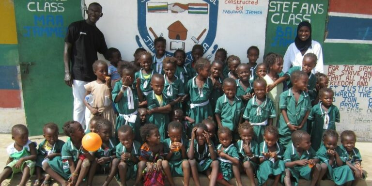 primary education in the Gambia
