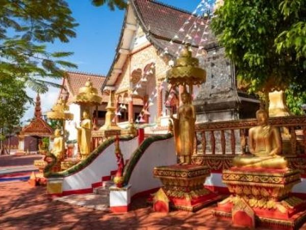 volunteer in a Buddhist monastery